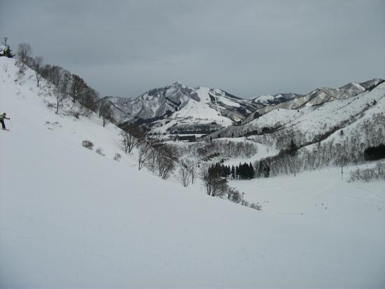 中級者にも楽しいスキー場 湯沢中里スノーリゾートのクチコミ画像
