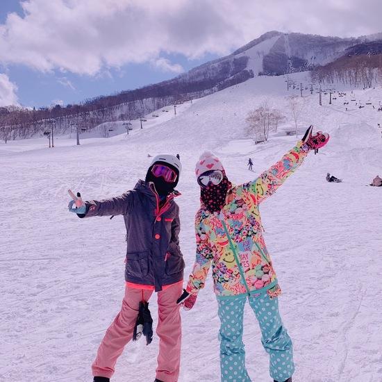 友達と初斑尾高原スキー場!|斑尾高原スキー場のクチコミ画像