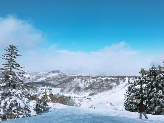 友達と初斑尾高原スキー場!|斑尾高原スキー場のクチコミ画像3