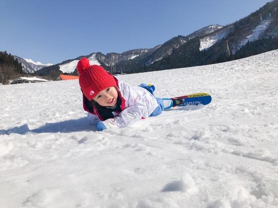 転んでも楽しい!|立山山麓スキー場のクチコミ画像
