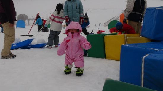 子連れには助かります。|スキージャム勝山のクチコミ画像