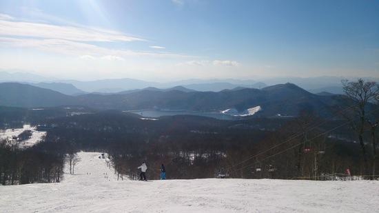 今シーズン滑り初め|たんばらスキーパークのクチコミ画像