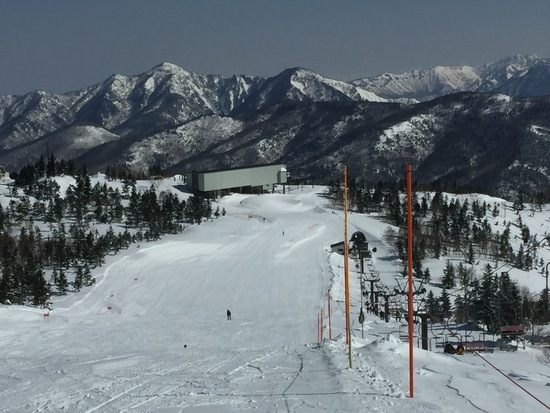 快晴、絶好のコンディションでした!|奥志賀高原スキー場のクチコミ画像
