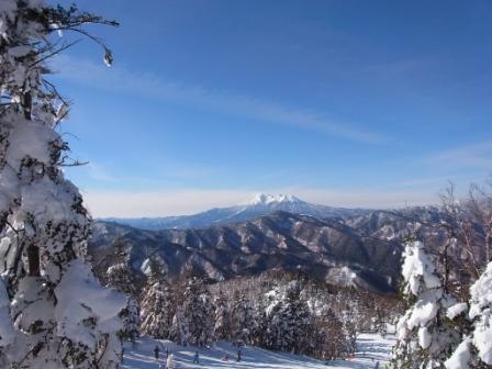 御嶽がきれいです|信州松本 野麦峠スキー場のクチコミ画像