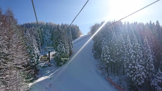 ピーカン!!天気は当たりー|蔵王温泉スキー場のクチコミ画像