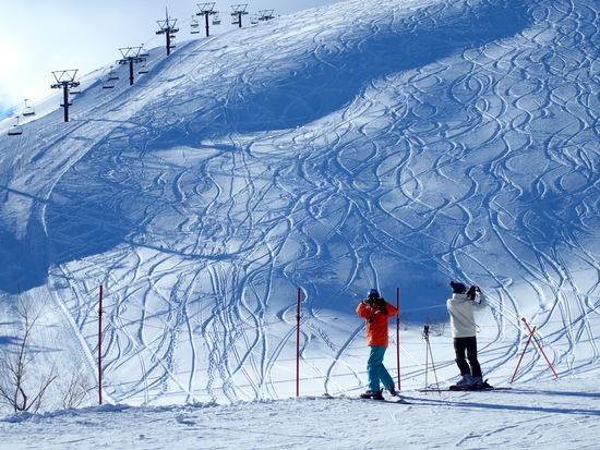 オープン前のリーゼングラートコース|白馬八方尾根スキー場のクチコミ画像