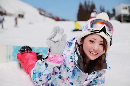 初めてのスノボ!|岩原スキー場のクチコミ画像