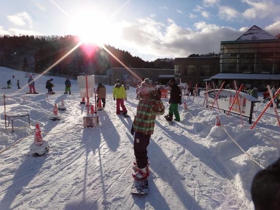 どんなレベルでも一緒に楽しめるスキー場です♪|ウイングヒルズ白鳥リゾートのクチコミ画像