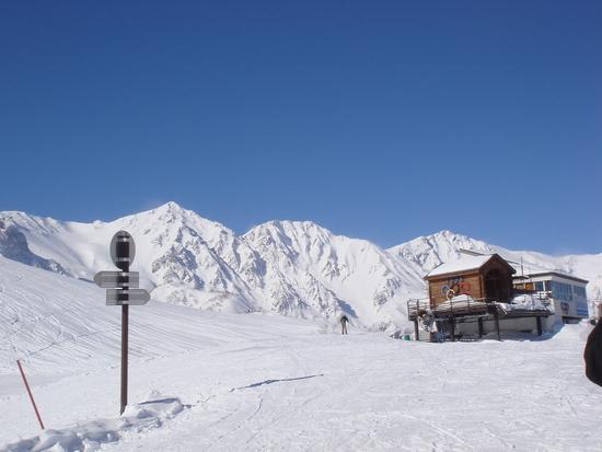白馬三山を臨んで|白馬八方尾根スキー場のクチコミ画像