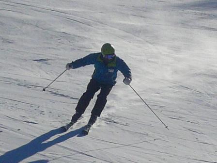 トレーニングバーンで|信州松本 野麦峠スキー場のクチコミ画像