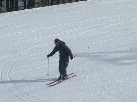 昨日よりは・・・|信州松本 野麦峠スキー場のクチコミ画像