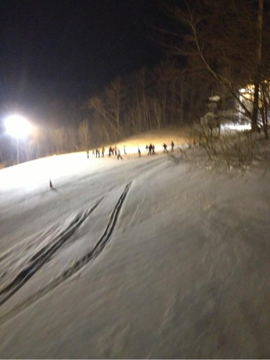 久々のカチカチ|雫石スキー場のクチコミ画像