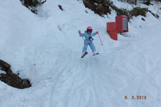ファミリリーに最適なゲレンデだよ!|モンデウス飛騨位山スノーパークのクチコミ画像