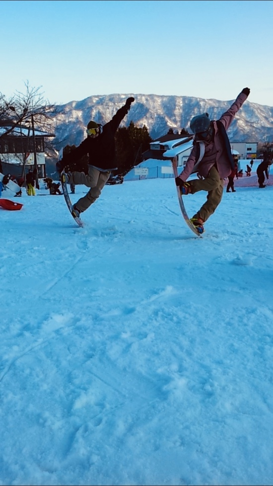 シンクロノーズブロック|おじろスキー場のクチコミ画像