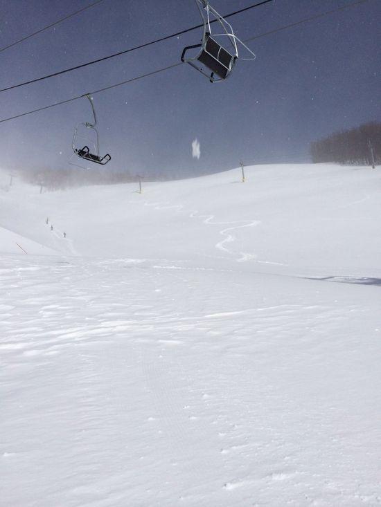 運悪く強風|オグナほたかスキー場のクチコミ画像
