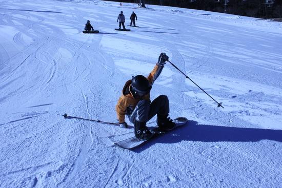スノーボード初挑戦も・・・・|カムイみさかスキー場のクチコミ画像