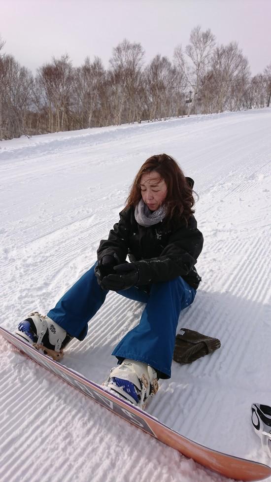 逆エッジの洗礼!|かぐらスキー場のクチコミ画像