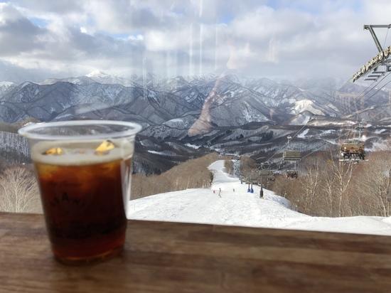 山頂に素晴らしいカフェがあるスキー場|水上宝台樹スキー場のクチコミ画像
