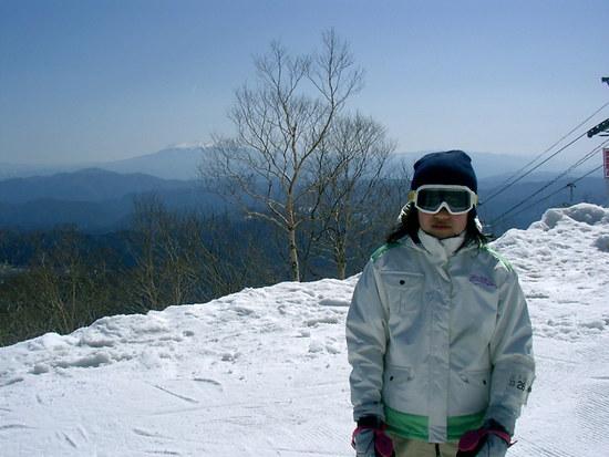 初心者コースで長くて景色がよかった|めいほうスキー場のクチコミ画像