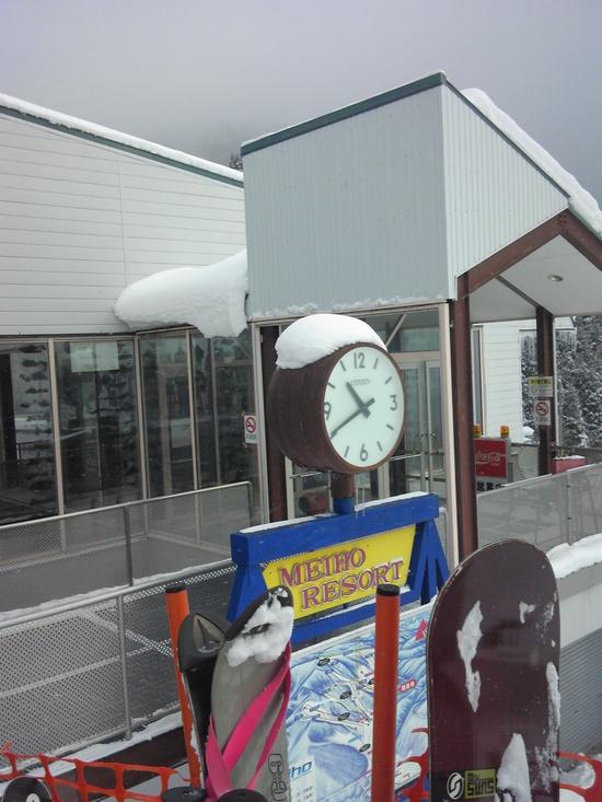 雪が降って、バンザイ、最高!!|めいほうスキー場のクチコミ画像