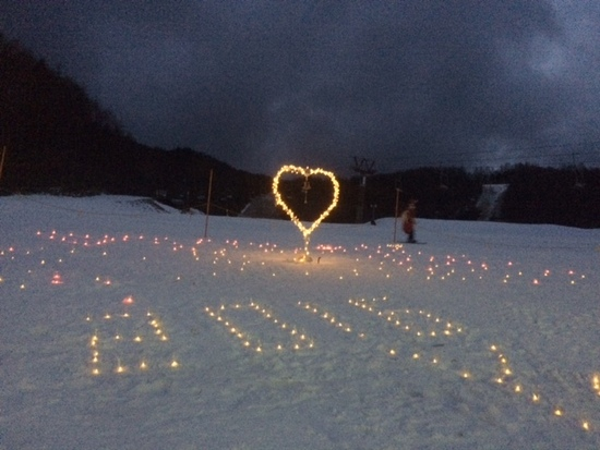 八千穂高原のクリスマスイベント|八千穂高原スキー場のクチコミ画像1