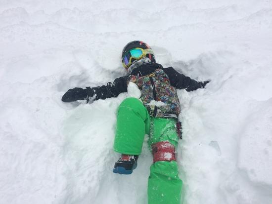 寒波でパウダー|たんばらスキーパークのクチコミ画像