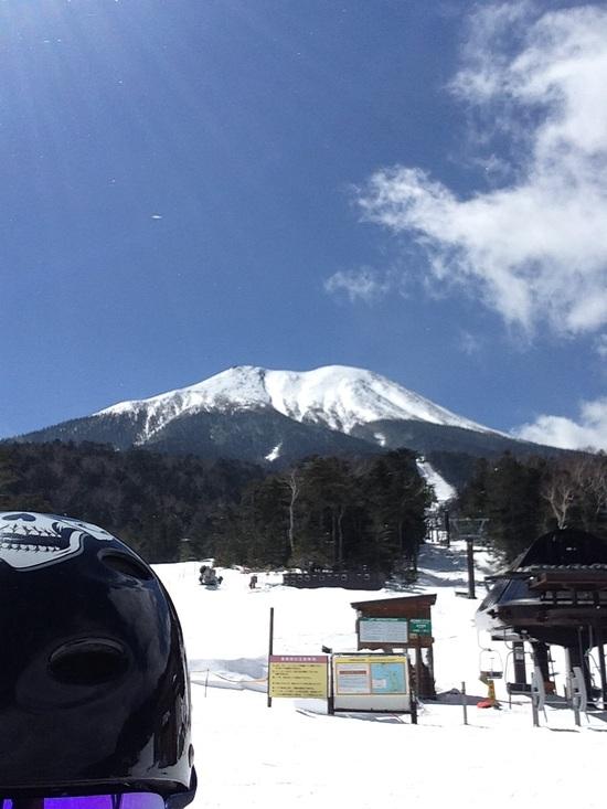 軽い雪でした|開田高原マイアスキー場のクチコミ画像