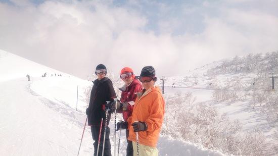 3月2週目の雪質ではない!(良好)|スキージャム勝山のクチコミ画像