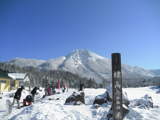 お正月 のつかの間の晴れ|丸沼高原スキー場のクチコミ画像