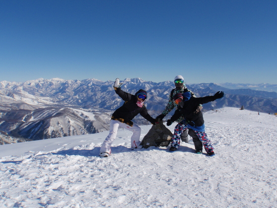 雪質はまだ普通|白馬八方尾根スキー場のクチコミ画像