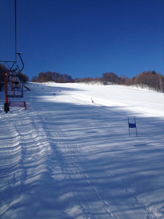 平日は空いてます|かたしな高原スキー場のクチコミ画像