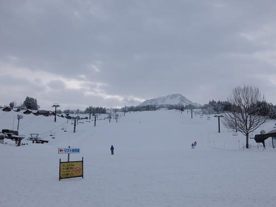 圧倒的な積雪量! キューピットバレイのクチコミ画像2