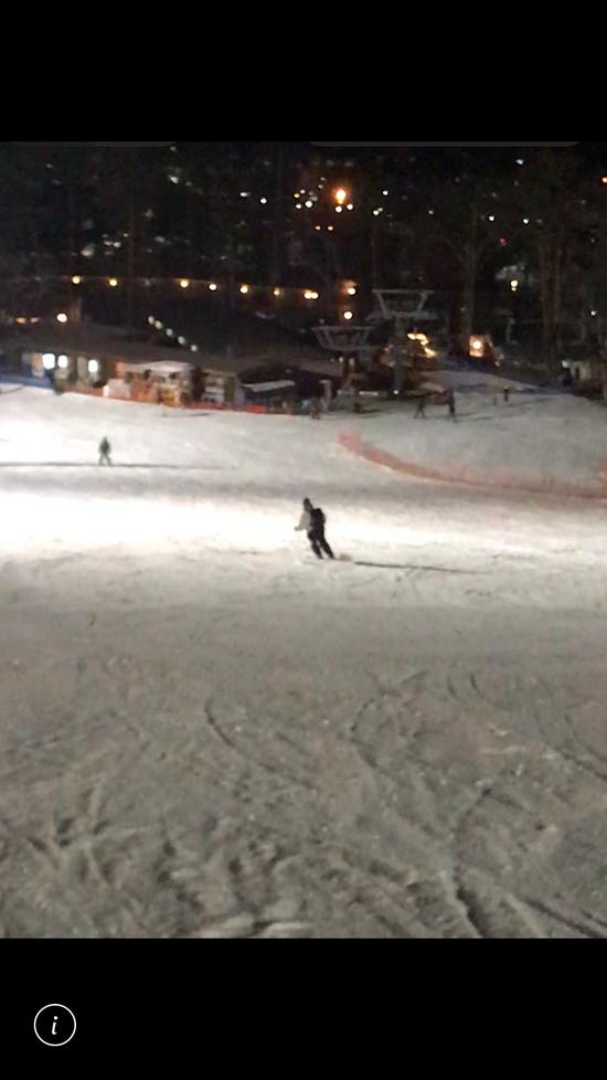 雪質が良くて滑りやすかったです。|軽井沢プリンスホテルスキー場のクチコミ画像