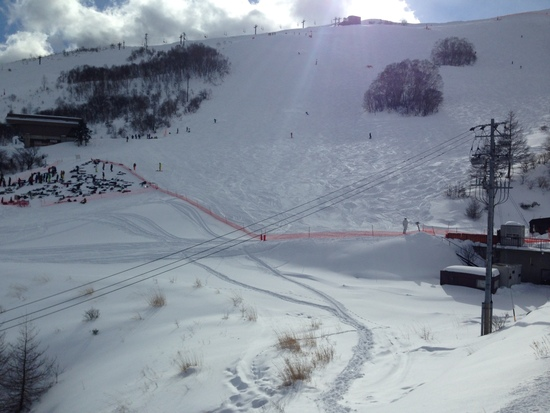 まさかの新雪でした。|車山高原SKYPARKスキー場のクチコミ画像1