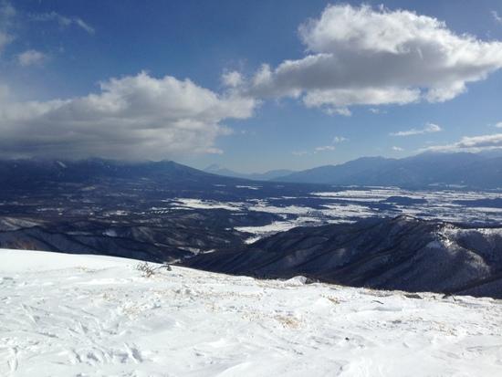 まさかの新雪でした。|車山高原SKYPARKスキー場のクチコミ画像2