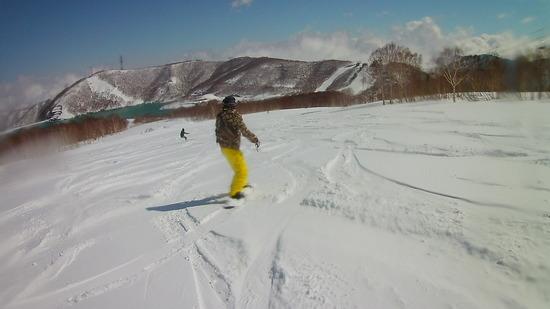 雪たくさん降ってました|かぐらスキー場のクチコミ画像