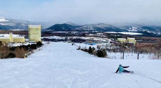 圧巻の岩手山!!!!|安比高原スキー場のクチコミ画像2