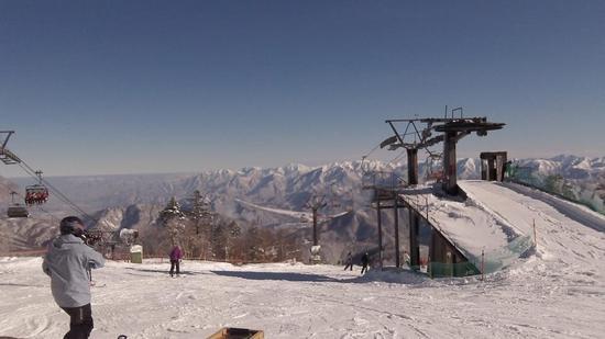 他のスキー場に比べ圧倒的な雪質|かぐらスキー場のクチコミ画像