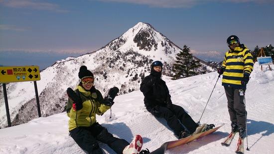 四月なのにまだまだこれから!|志賀高原 熊の湯スキー場のクチコミ画像2