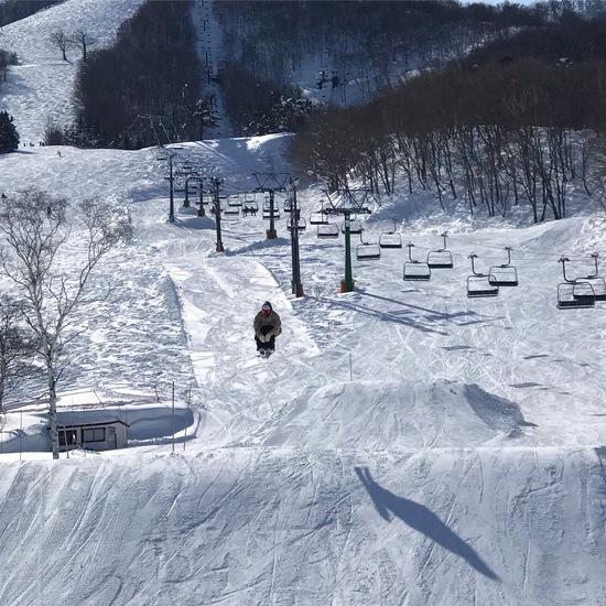 体育座り 斑尾高原スキー場のクチコミ画像2
