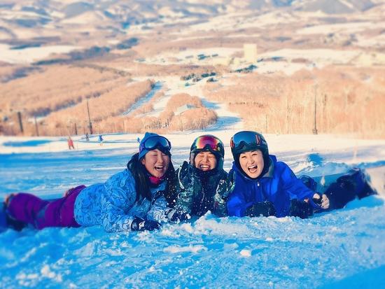 はじける女子! 安比高原スキー場のクチコミ画像