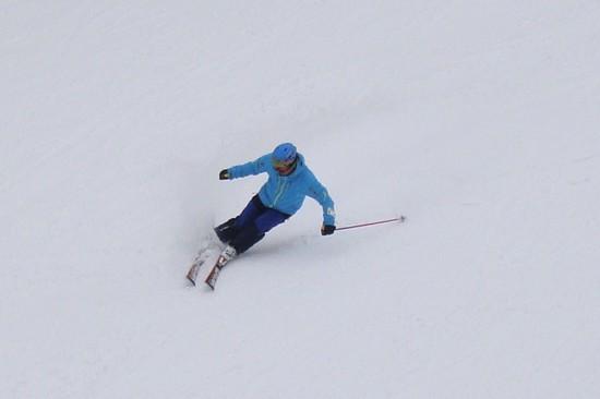 下半分はベッチョリ|信州松本 野麦峠スキー場のクチコミ画像