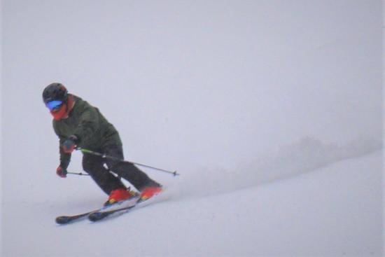 幅はやや広がり|信州松本 野麦峠スキー場のクチコミ画像