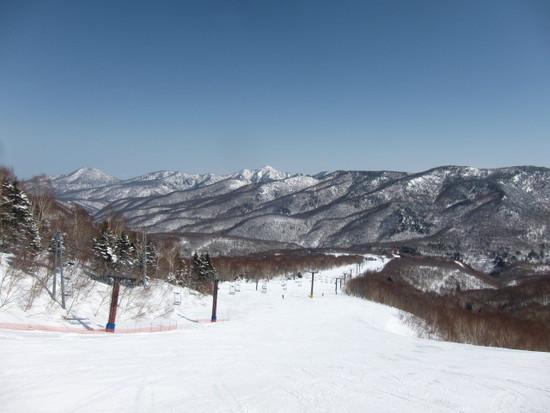 2014/04/07(月) 長野県 奥志賀スキー場の速報|奥志賀高原スキー場のクチコミ画像