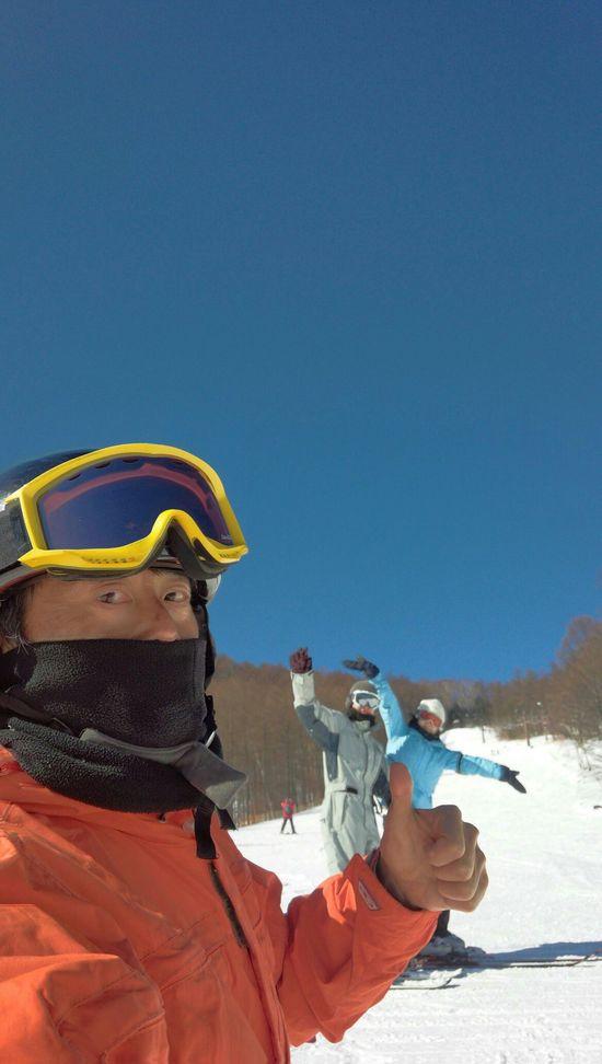とにかくキモチイー!|八千穂高原スキー場のクチコミ画像