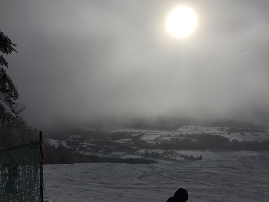 今年は雪少ない|菅平高原スノーリゾートのクチコミ画像