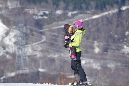 大自然の中で!|かぐらスキー場のクチコミ画像
