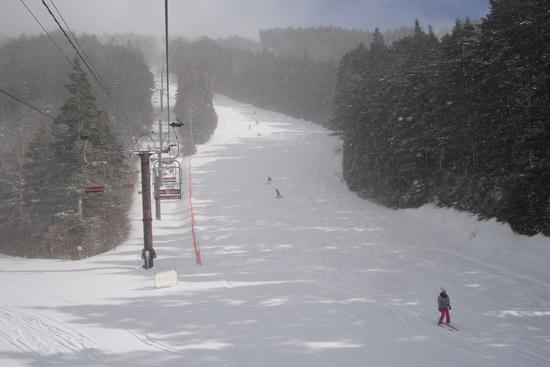 雪の具合は|信州松本 野麦峠スキー場のクチコミ画像