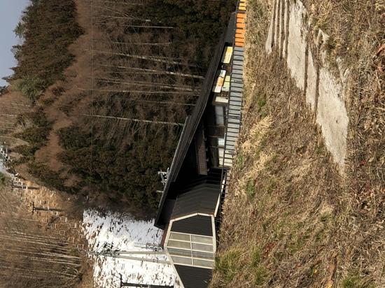 右半分が… 野沢温泉スキー場のクチコミ画像1
