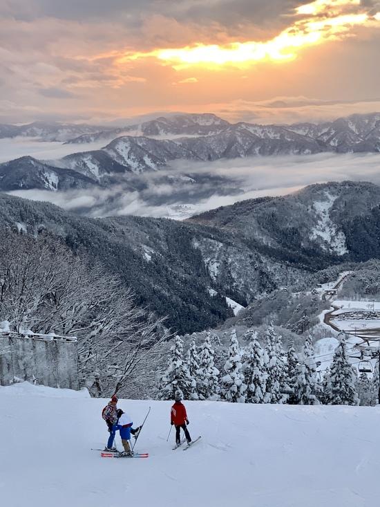 残照|スキージャム勝山のクチコミ画像1
